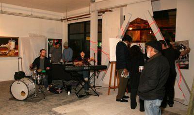 Live Band, featuring Brenda Xu