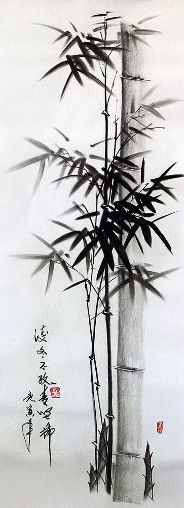 bamboo drawing - photo #15