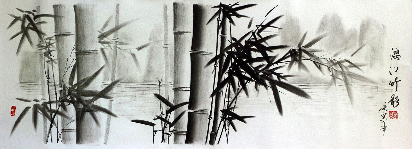 bamboo drawing - photo #16