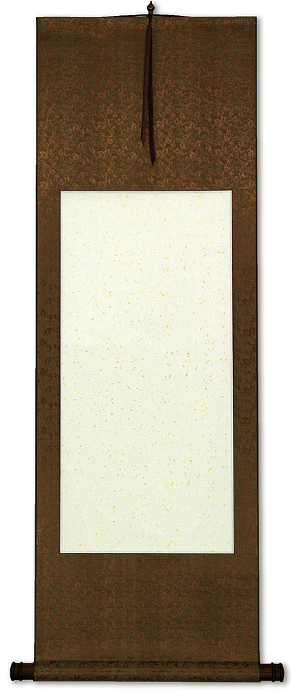 Blank White Copper Chinese Wall Scroll Special Items