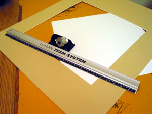 Mat board cutter