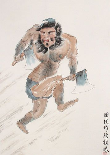 Li Kui - Black Tornado Warrior of Ancient China