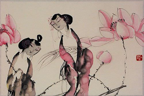 Jiang Feng's Abstract Asian Artwork