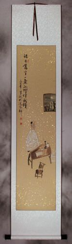 My Only Company: Moonlight - Wall Scroll